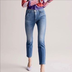 frame denim in thistle